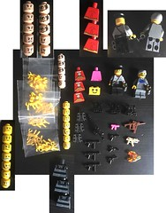 LEGO Extra Items WWII German Weapons Minifigs Heads (dmikeyb) Tags: lego wwii ww2 german russian brickarms brick warriors citizen cb weapons minifigs custom trade sail