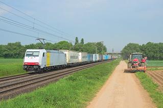 Lokomotion 185 637, Bornheim