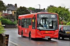 London General SEN43 (stavioni) Tags: go ahead london general single decker bus adl alexander dennis enviro 200 red tfl 315 transport en43 yx09 fmv