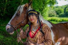 Modèle: Océane  Photo GEM Photo Emmanuel  Merci à Lucie et Emmanuel pour les chevaux-9017-1-2018 (Emmanuel Ménétrier) Tags: 2018 cheval cowboy mai oceane