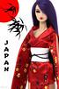 A-Z Challenge 2.0: J - Japan (MARVEL_DOLLS) Tags: fashionroyalty fr integrity jasonwu quicksilverkyori kyorisato reroot rebody fr2 purplehair az dollphotography challenge japan japanese asian easternasian red kimono geisha lips marvel xmen psylocke betsybraddock marveldolls