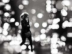 The lights of cannibalism (LUMEN SCRIPT) Tags: creativeart dream conceptphotos conceptualphotography concept poetry artisticphotography strange weird unusual dark blur person monochrome atmosphere mood bokeh light