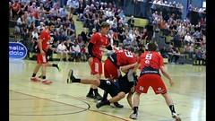 Handba Aufstiegs-Playoffs zur NLA: RTV 1879 Basel - STV Baden (Robi33) Tags: action ball basel foul handball championship fight audience referees switzerland fun play rtv1879basel gamescene sports sportshall viewers