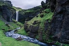 Kvernufoss (dawvon) Tags: kvernufoss longexposure landscape waterfall travel cloudy water river nordic skógar suðurland europe nature iceland lýðveldiðísland republicoficeland skogar southernregion ísland