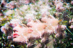 C.S. May 2018 Shoot (martinruffin) Tags: abstract ethereal film doubleexposure multiple exposure cokin nikon fe nikkor 35mm 50mm 135mm prism spot in color cosmic strip music portrait portra superia