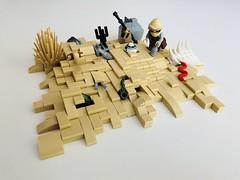 Rey Scavenger (bru.bru) Tags: jakku afol vignette desert lego moc rey starwars