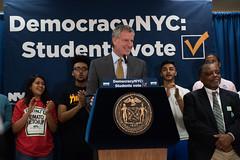 Student Voter Registration Day (nycmayorsoffice) Tags: students voting vote civics classroom newyork ny usa