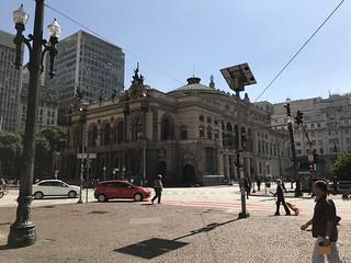 Municipal Theatre, downtown São Paulo, Brazil.