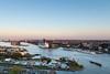 """Amsterdam Harbour """"Het IJ"""" on Sunset (- Jan van Dijk -) Tags: netherlands nederland amsterdam northholland view lookout ship boat harbour haven maritime scheepvaart shipping zonsondergang hetij"""