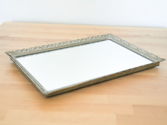 Filigree Mirror Tray (.godo) Tags: etsy vintage antique midcentury filigree silver mirror vanity boudoir powderroom bathroom bedroom homedecor countrycottage glam perfume organization storage glamour lace hollywood regency 20s 30s 40s 50s shabbychic ormolu gilt starlet marieantoinette french