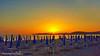 Un tramonto nella bella Alghero (johnfranky_t) Tags: alghero sardegna sardinia tramonto johnfranky t samsuns s6 ombrelloni lettini montagne