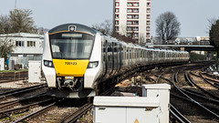700123 (JOHN BRACE) Tags: 2014 siemens krefeld germany built desiro city class 700 emu 700123 seen east croydon thameslink livery