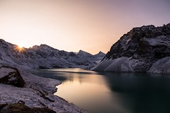 First light - Ala Kul (GalShon) Tags: firstlight first light sunrise ala kul kyrgyzstan alpine galshon mountain