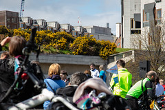 #POP2018  (176 of 230) (Philip Gillespie) Tags: pedal parliament pop pop18 pop2018 scotland edinburgh rally demonstration protest safer cycling canon 5dsr men women man woman kids children boys girls cycles bikes trikes fun feet hands heads swimming water wet urban colour red green yellow blue purple sun sky park clouds rain sunny high visibility wheels spokes police happy waving smiling road street helmets safety splash dogs people crowd group nature outdoors outside banners pool pond lake grass trees talking bike building sport