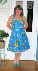New Dress MK2 (Trixy Deans) Tags: crossdresser cd cute crossdressing crossdress classy classic rockabilly cocktaildress hot tgirl petticoats transgendered transsexual