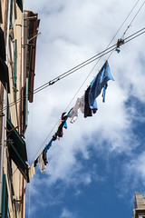 How to hang the clothes out in Genoa (stefanobosia) Tags: clothes genoa hangout vestiti genova stendere
