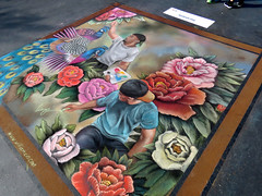 """Nature as I See It""       1st Place Winner (Bennilover) Tags: art artists artsalive missionviejo festival chalkpainting streetpainting chalk parkinglot artist 1stplacewinner explore chalkdrawings winner"