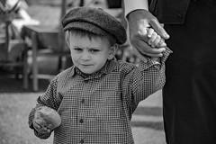 Daddy's hand (Wöwwesch) Tags: boy dad hands vintage holdme trust blackwhite child childportrait love