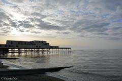 Aberystwyth Pier (Coastal Co) Tags: aberystwyth pier wales ceredigion unlimitedphotos uk 2018 sky coast seaside sea