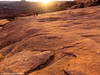 Out of the Sunset (Ramona H) Tags: arches archesnationalpark delicatearch utah nationslpark sunset route trail