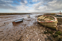 Brancaster (andybam1955) Tags: beach landscape brancaster coastal quay sky northnorfolk boats rural norfolk clouds