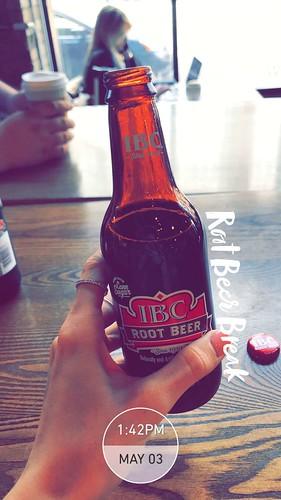 Root beer break