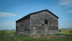 Monroe County, WV Barn (Bob G. Bell) Tags: barn nrhp monroecounty wv farm abandoned bobbell history historic sky xpro1 fujifilm