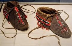 Mocs (Will S.) Tags: moccasins mohawk woodlands mypics batashoemuseum toronto ontario canada shoes footwear boots history theannex bloorstreet aboriginal firstnations