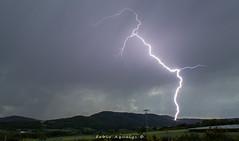 Orage impact de foudre 08/05/18 (Fabio Aqualys Photographie) Tags: orage orages foudre éclair storm thunder thunderstorm light lightning strike fulmini fulmine temporale maclas ardèche loire pilat nuage sky