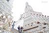 黎明寺 Wat Arun (Ming_Young) Tags: watarun bangkok thailand วัดอรุณ 黎明寺 鄭王廟 曼谷 泰國 southeastasia asia tourist temple buddhism architecture white 2470mm stairs tower april wat thai