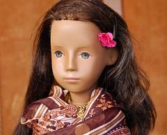 Sylvie's Sari (Emily1957) Tags: sylvie sashadolls sashadoll germandoll germany german gotz vinyl sashamorgenthaler sari toy toys doll dolls light naturallight nikon nikond40 vintage slateeyes