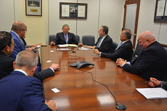 Menendez Meets with Building Congress Leaders on Gateway