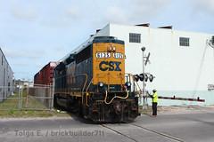 Pan American Paper (brickbuilder711) Tags: csx train miami florida y223 yard job hialeah east rail switching boxcars manifest