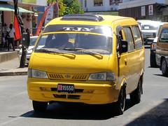 Number Plate from Vanuatu (CooverInAus) Tags: port shefa vanuatu number license registration motor vehicle automobile plate kia bus yellow vila