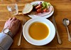 Lunch (♔ Georgie R) Tags: lunch soup hamsalad ashburnhamplace sussex