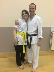 IMG-20180504-WA0008 (tripletsamurai) Tags: karate bristol bath kingswood staple hill warmley downend redland martial arts challenge achieve achievement happy kumite kata ladies girls couple confidence self assertiveness reward promotion