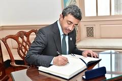 UAE Foreign Minister Sheikh Abdullah bin Zayed Al Nahyan Signs Secretary Pompeo's Guestbook (U.S. Department of State) Tags: sheikhabdullahbinzayedalnahyan unitedarabemirates