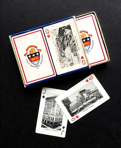 Commemorative Playing Cards 250th Birthday Festival Of Detroit