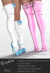 Tillie ~ Socks Enchantment (Hopey Honi in SL) Tags: maitreya socks shoes enchantment aliceinwonderland