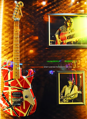 Eddie Van Halen's Frankenstrat (Infinity & Beyond Photography) Tags: eddie vanhalen frankenstrat fender stratocaster gibson guitars seminole hard rock casino tampa florida music memoribilia guitar
