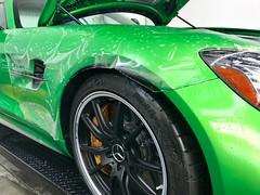 Mercedes AMG GTR Full Stealth Wrap