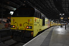 Colas Rail Freight Class 67023 'Stella' (Liam Blundell Photography) Tags: class 67 67023 67027 stella charlotte liverpool lime street merseyside derby rtc network rail crewe cs lnwr chester holyhead colas freight test train old new night time