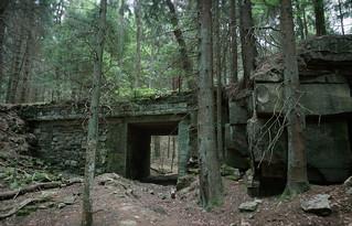 Mystic Bridge (Abandoned sandstone mine)