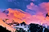 Sunset Mont Blanc (Fr Paul Hackett) Tags: sunset montblanc clouds colour sky