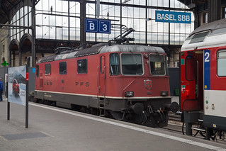 SBB Re 4/4 420 164 Basel Bad
