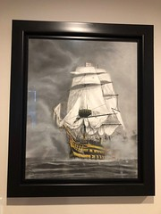 HMS Victory (GP1805) Tags: draw drawings drawing artwork art artist pastel ink canada vancouver