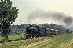 FS Gr 625.177 Oggiono 29/05/2005 (stefano.trionfini) Tags: train treni bahn zug steam dampf fs gr625 oggiono brianza italia italy