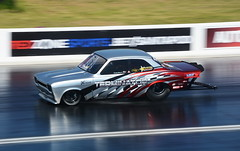 Escort_8957 (Fast an' Bulbous) Tags: doorslammer car vehicle fast speed power drag race track strip pits classic automobile santa pod nikon outdoor motorsport