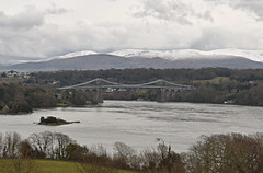 UK - Wales - Menai Bridge (Harshil.Shah) Tags: wales cymru great britain united kingdom menai bridge anglesey suspension menaibridge menaisuspensionbridge telford thomastelford strait bangor a5