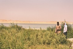 Fish and Men (ItalianCandy) Tags: fishermen fishing men sobek egyptians egypt fayoum desert lake grass bushes beach simplicity warmth energy nature